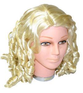 Paruka blond lokny