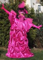 Benátský kostým - růžová Benátský kostým - růžová